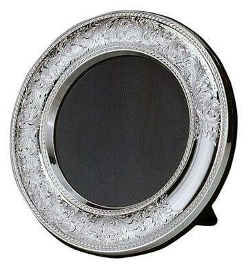 $155.00 Nostalgia Round Velvet Back Tarnish Resistant Frame