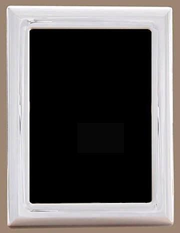 $180.00 Plain 3.5 X 5 Wood Back Tarnish Resistant Frame