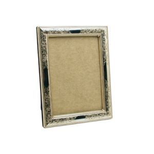 $200.00 NOSTALGIA STERLING 5 X 7 FRAME WITH WOOD BACK