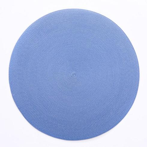 """$28.00 16"""" Round Scallop Placemat (Shown for color not shape)"""