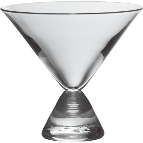 $75.00 Westport Stemless Martini Glass