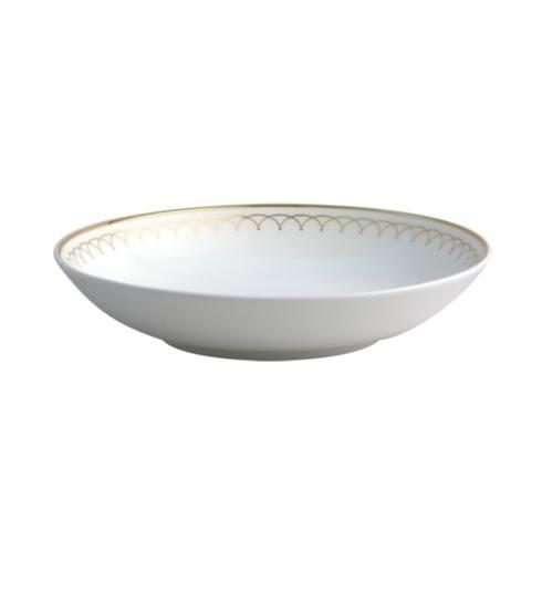 $28.00 Lattice Gold soup bowl