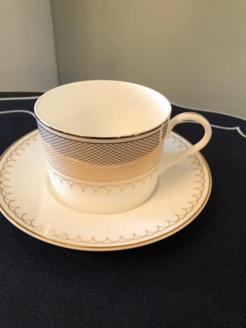 $45.00 Lattice Gold cup n saucer