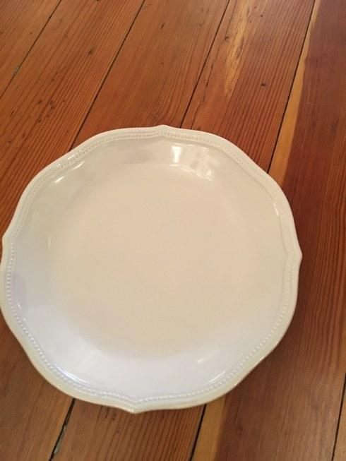 $24.00 French Perle dinner plate