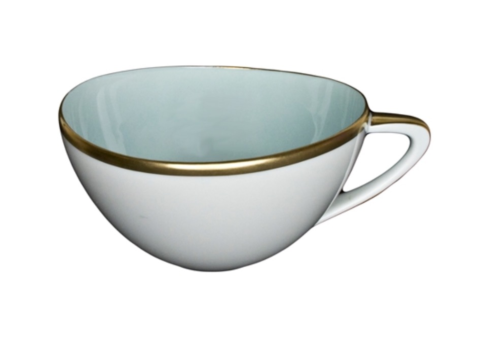 $73.00 Powder Bue Teacup and saucer