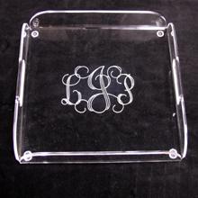 $64.00 Acrylic Square Butler Tray