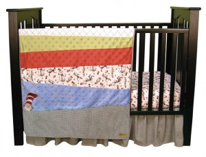 $114.55 CAT IN THE HAT 3 PC BEDDING SET