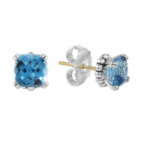 $295.00 Blue Topaz Earrings