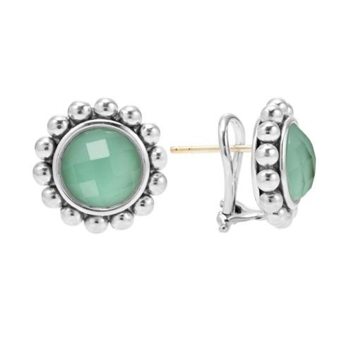 $295.00 Variscite Doublet Circle  Earrings