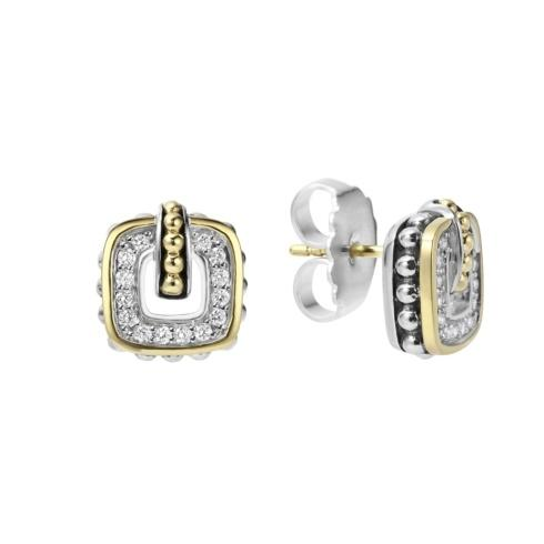 $995.00 Caviar Diamond Stud Earrings