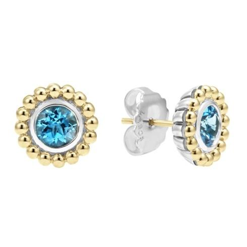 $237.50 Retired Style! ONLY 1 LEFT! Swiss Blue Topaz Gemstone Earrings