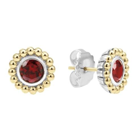 $237.50 Retired Style! ONLY 1 LEFT! Garnet Gemstone Earrings