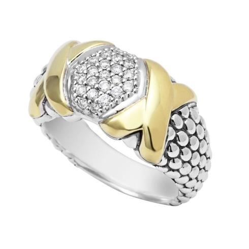 $1,500.00 Pave Diamond Caviar Ring