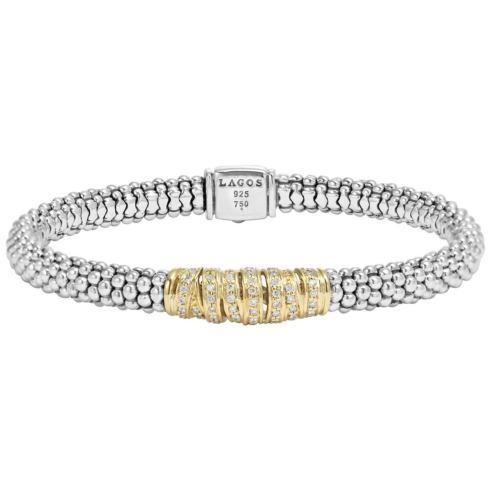 $1,495.00 Diamond Caviar Beaded Bracelet