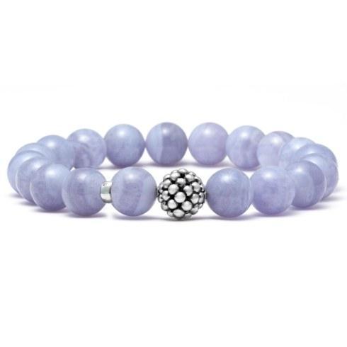$225.00 Blue Lace Agate Stretch Bracelet