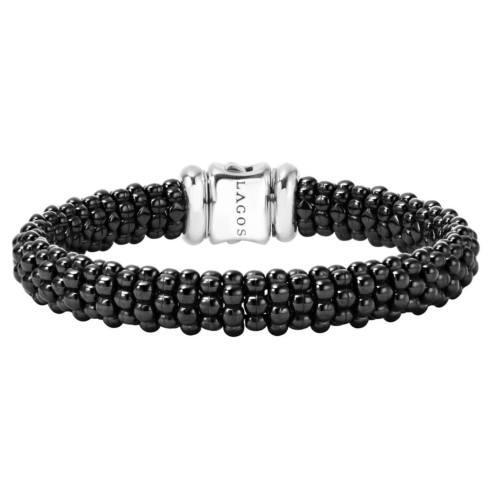 $450.00 Ceramic Black Caviar Bracelet