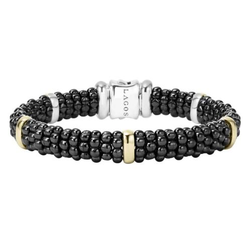 $800.00 Caviar & Gold Bracelet