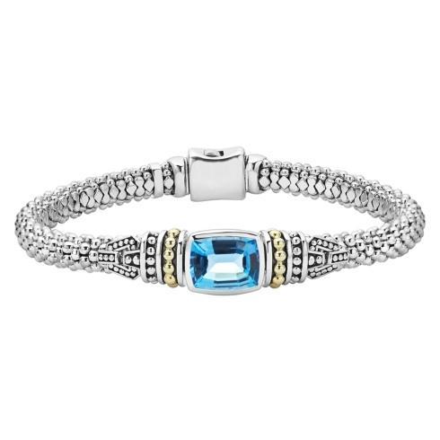 $750.00 Swiss Blue Topaz Bracelet