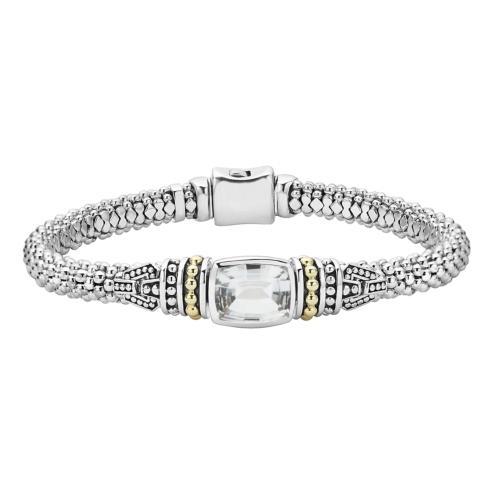 $695.00 White Topaz Bracelet