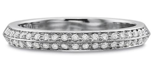 $10,000.00 Diamond Two Row Bead Set Band