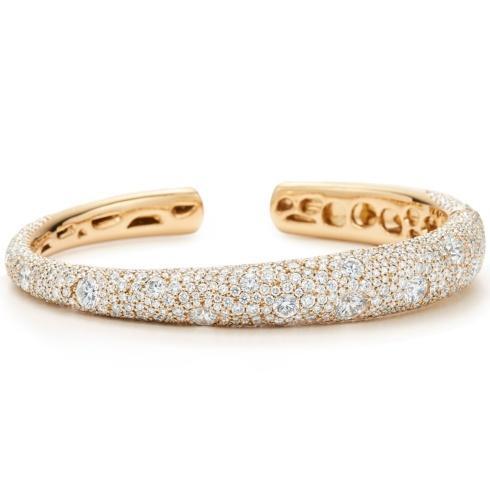 $76,300.00 Cobblestone Diamond Bangle Bracelet