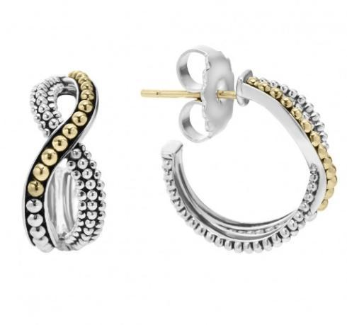 $350.00 INFINITY HOOP EARRINGS