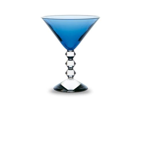 $250.00 Blue Martini Glass