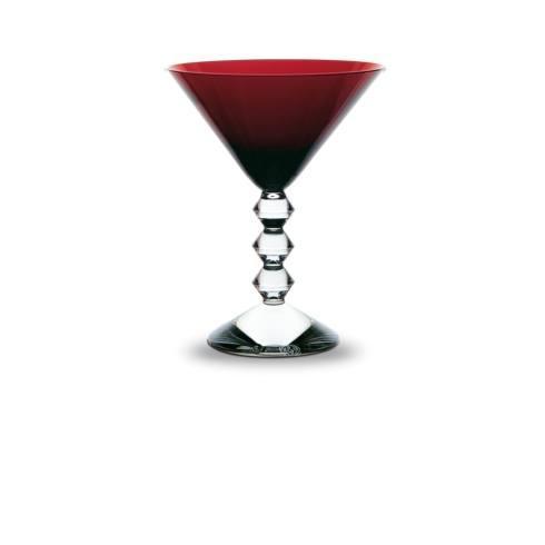 $250.00 Red Martini Glass