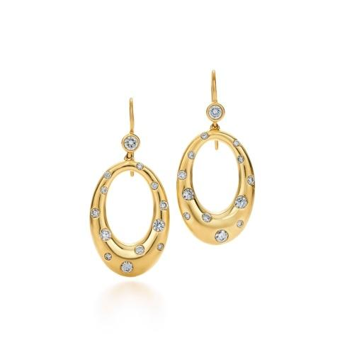 $5,650.00 Cobblestone Diamond Earrings