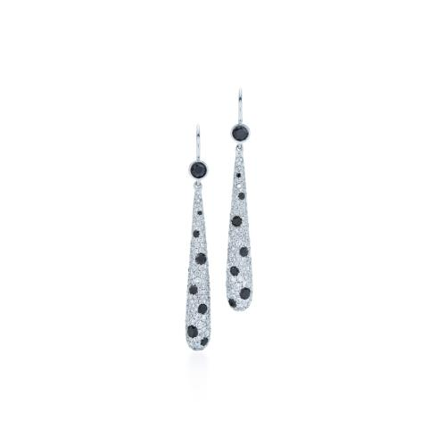 $8,950.00 Cobblestone Diamond Earrings