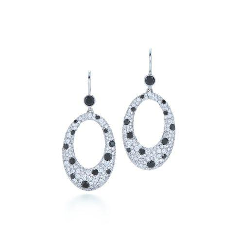$11,400.00 Cobblestone Diamond Earrings