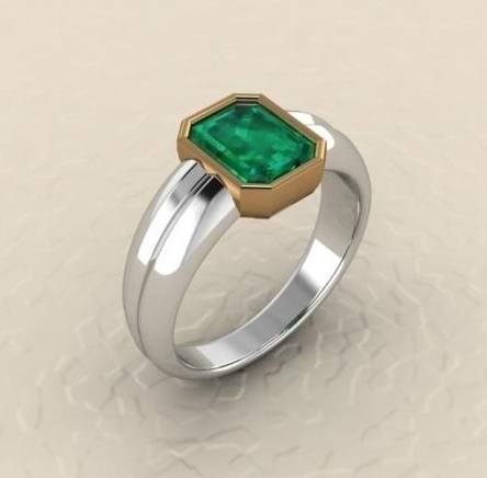 $0.00 custom gents ring