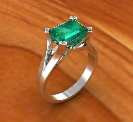$0.00 emerald ring