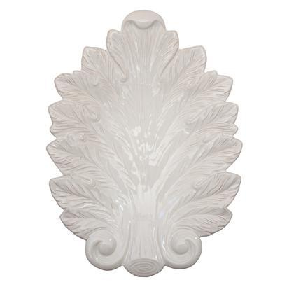 $78.00 16 Inch Leaf Platter