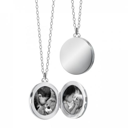$645.00 Round Locket With Domed Edges