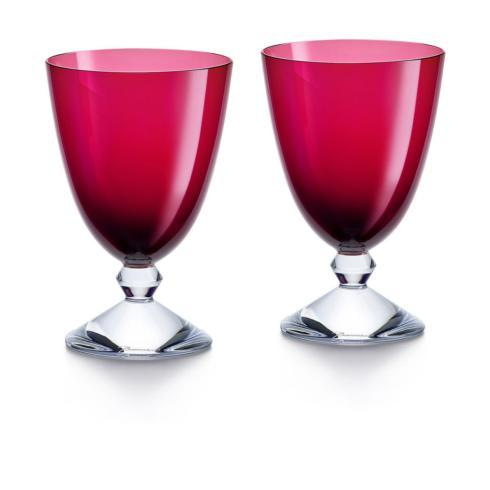 $480.00 VÉGA GLASS SMALL RED PAIR
