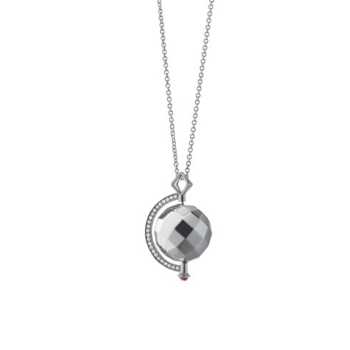 "$495.00 ""Passion"" Mars Planet Charm Necklace"