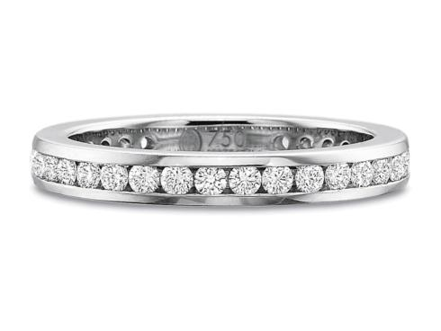 $10,000.00 .75ctw Full Round Channel Set Diamond Band