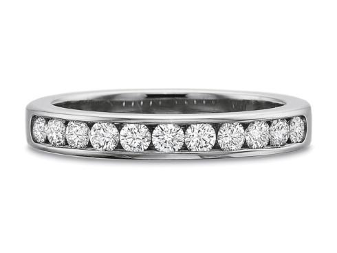 $10,000.00 .50ctw Round Channel Set Diamond Band