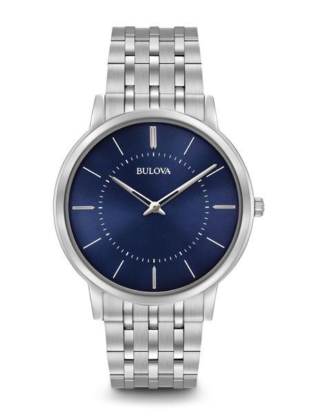 $224.25 Men\'s Classic Ultra-Slim watch with blue dial