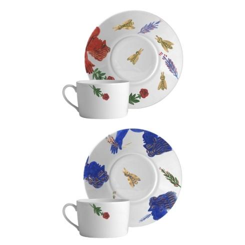 $385.00 Breakfast Cup & Saucer Set of 2