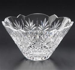 """$330.00 9"""" Flared Scalloped Bowl"""