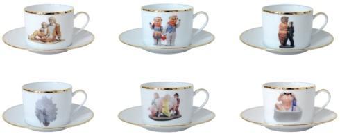 $875.00 Tea Cup and Saucer Set of 6