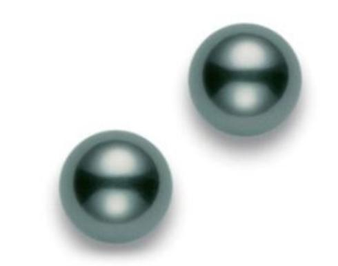 $1,522.50 Black South Sea 9mm A+ Stud Earrings