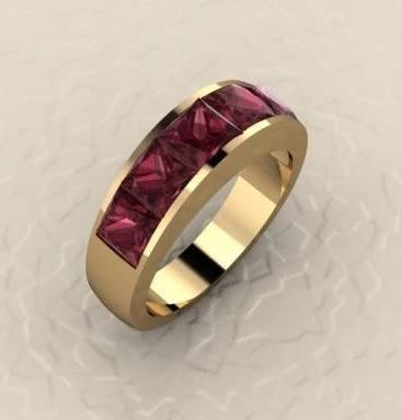 $1,000.00 Rhodolite Garnet ring
