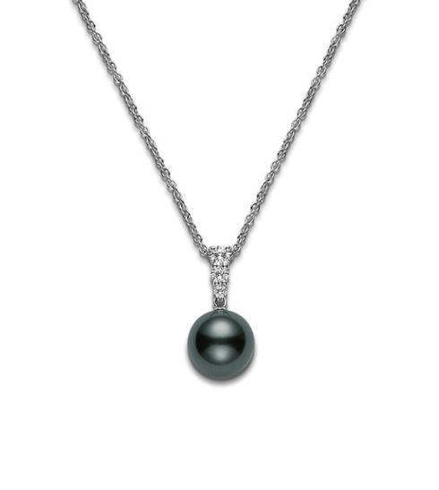 $2,362.50 Black South Sea Pearl and Diamonds