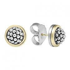 $375.00 Beaded Stud Earrings