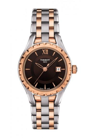 $262.50 Lady Small Quartz With Brown Dial With Two-Tone Stainless Steel Bracelet