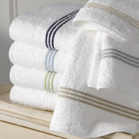 $83.00 Bel Tempo Bath Towel, Navy
