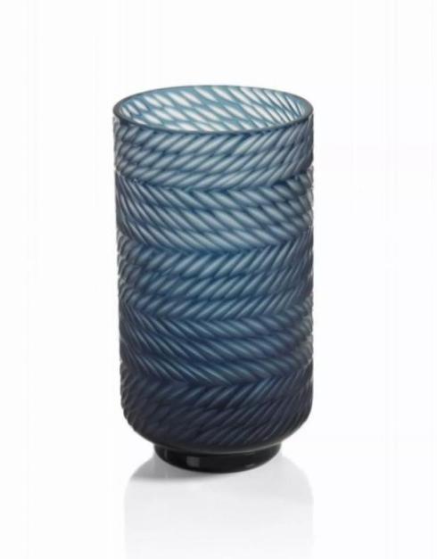 $90.00 Blue Bay Tall Glass Hurricane